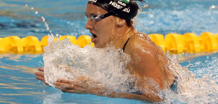 Katinka Hosszu (HUN) 4:20.83 and New 400 IM Short Course World Record