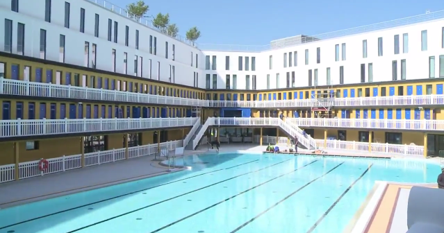 Paris legendary piscine molitor reopens after 25 years of for Molitor swimming pool paris