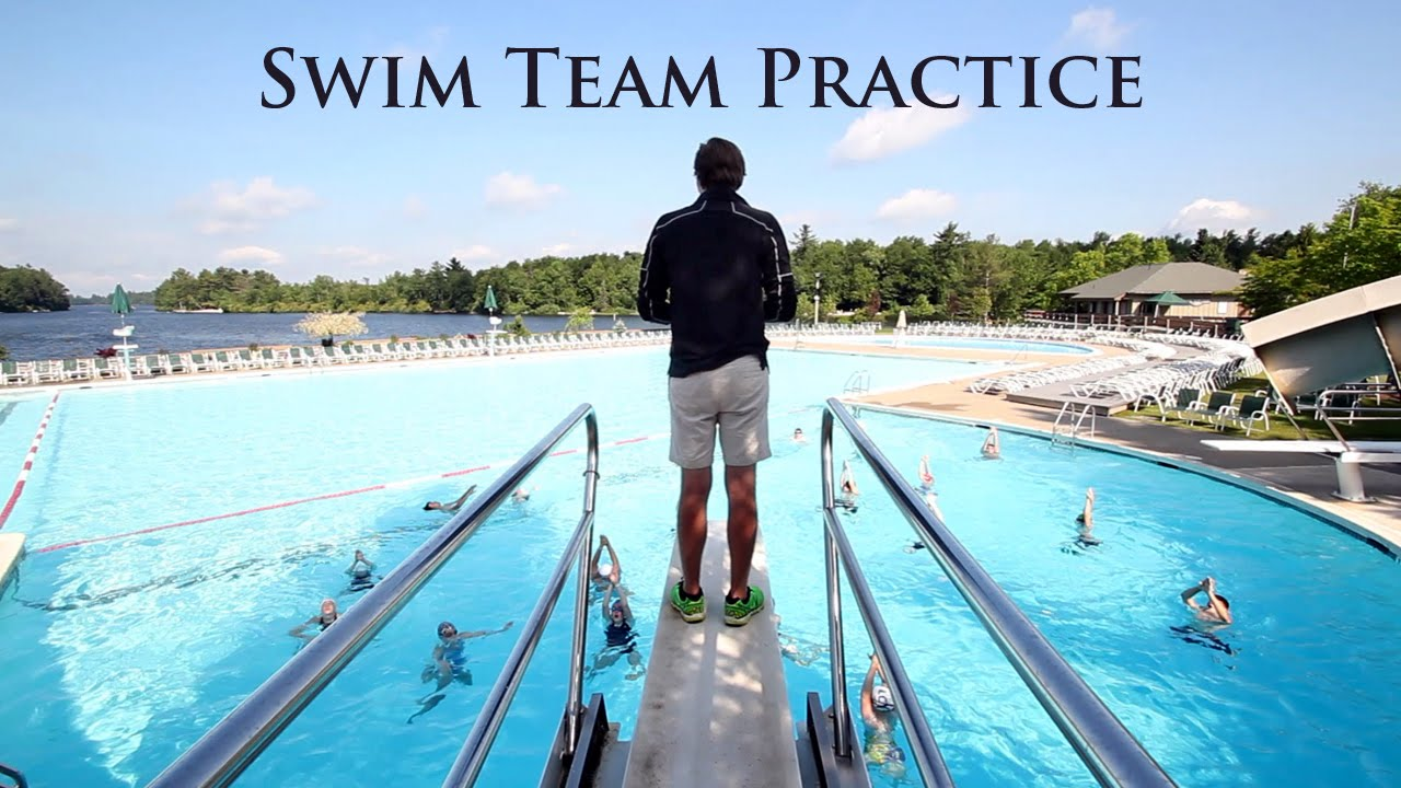 Swim Team Practice Lake Naomi Club