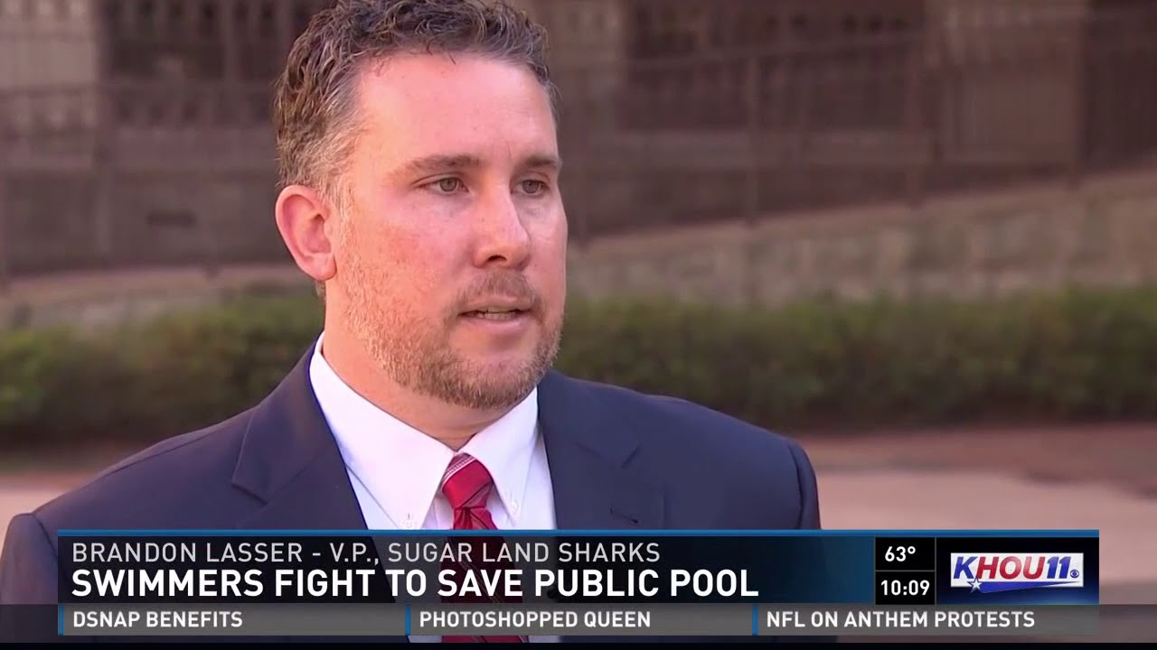 Swimmers Fight To Save Public Pool In Sugar Land