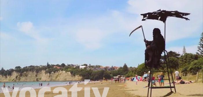 "Beware New Zealand's ""Swim Reaper"""
